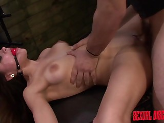 Vulgar Fun With Tied Bitch - ANALDIN
